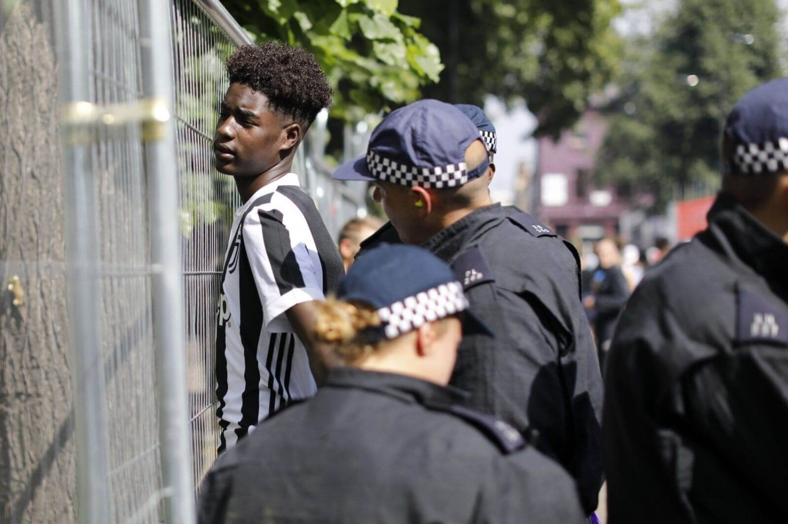 black man stop and search