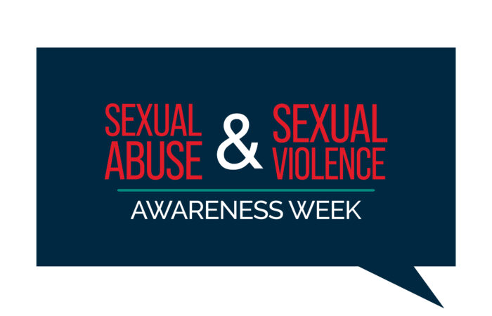 Sexual Abuse and sexual violence awareness week banner